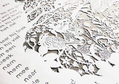 Custom papercut - Publisher Plint - Detail