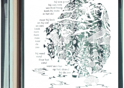 Custom papercut - Publisher Plint - Window Poem