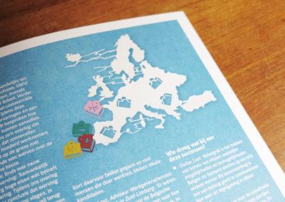 eures - landen puzzel schuin