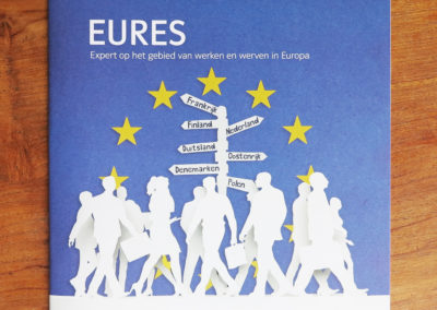 Illustrations for Brochure – Eures