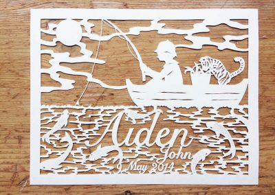 Custom Papercut Hilary - Aiden Total - Whispering Paper