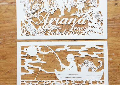 Custom Papercut Hilary - Ariana & Aiden Total - Whispering Paper