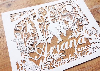 Custom Papercut Hilary - Ariana Total Left - Whispering Paper