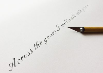 Papercut 25th Anniversary - Work in Progress - First Sentence - Whispering Paper