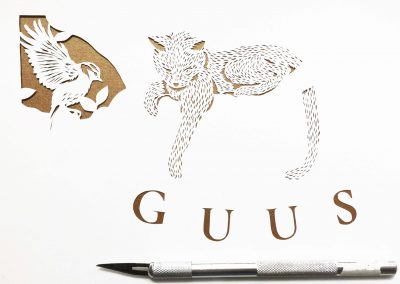 Custom Birth Announcement - Guus - Work in Progress 3