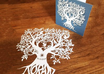 Custom Birth Announcement – Noran