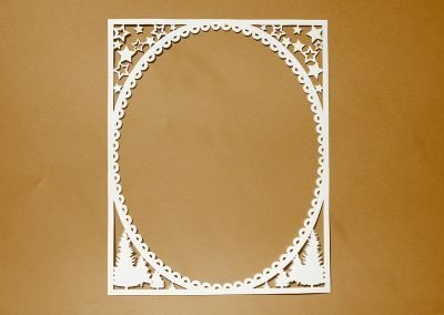 Papercut Illustrations for Libelle Magazine - Frame
