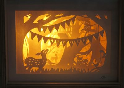 Papercut Diorama Nightlights