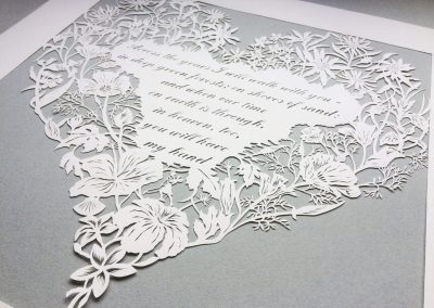 Papercut 25th Anniversary - Total from right side on Grey