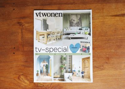 Corporate Commission - Papercut VT Wonen TV Show - Magazine cover - Whispering Paper