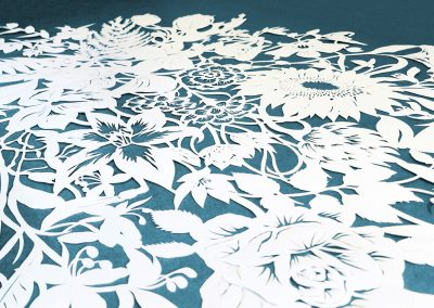 Corporate Commission – Papercut VT Wonen TV Show – Detail Unframed - Whispering Paper
