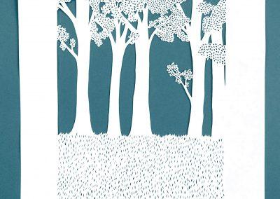 Anniversary Family Wedding - Layered Papercut - Layer 3