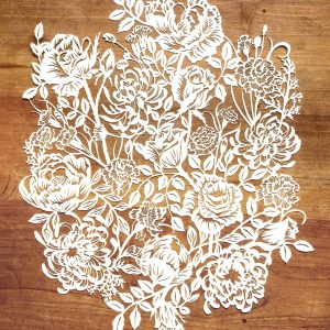 Modulair lasercut - Romantic Flowers - Total