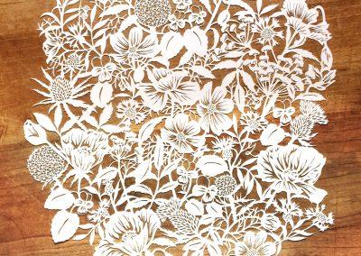 Modulair lasercut - Wild Flowers - Total - Whispering Paper