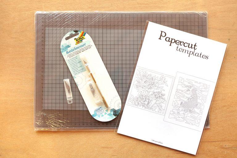 DIY Set Papercutting - A4 - Whispering Paper