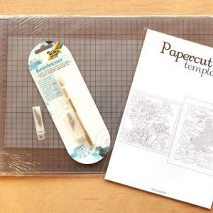 DIY Set Papercutting - A4 - Whispering Paper