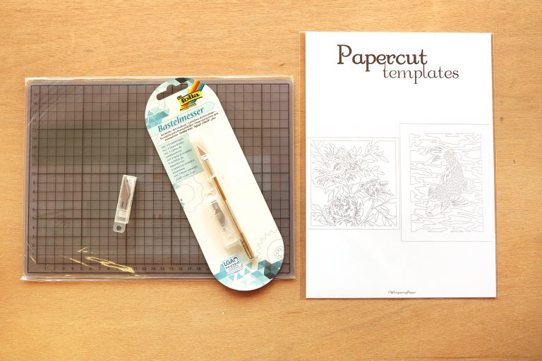 DIY Set Papercutting - A3 - Whispering Paper